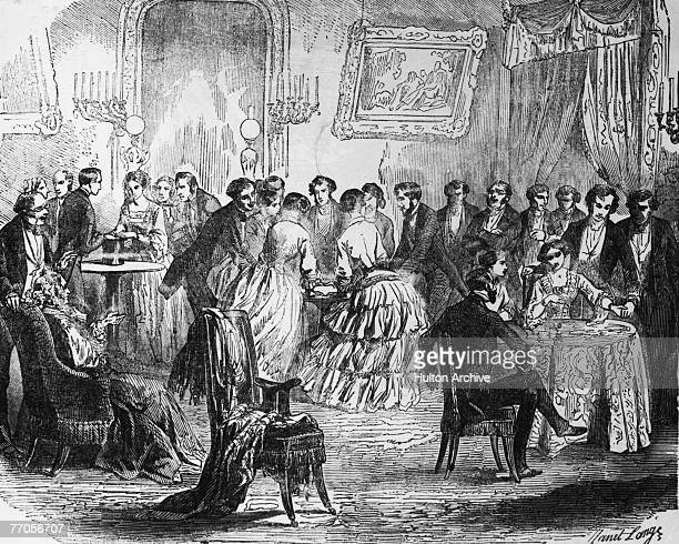 Party games in a Paris salon May 1853 By JanetLange