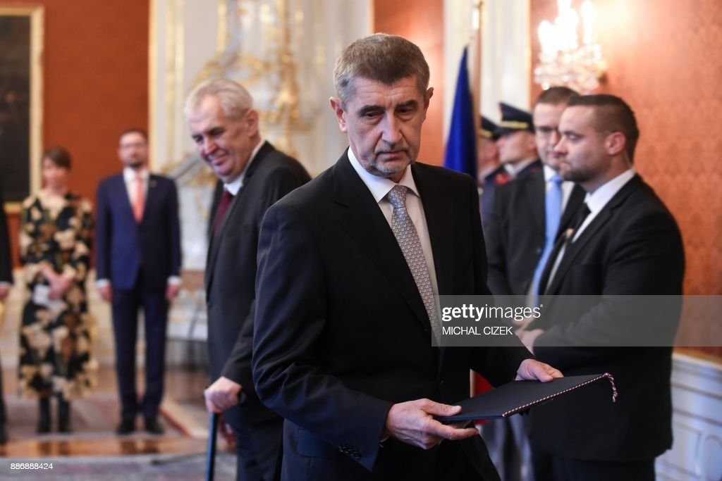 $4.1 billion - Current net worth of businessman Andrej Babis, who was recently named Prime Minister of the Czech Republic.