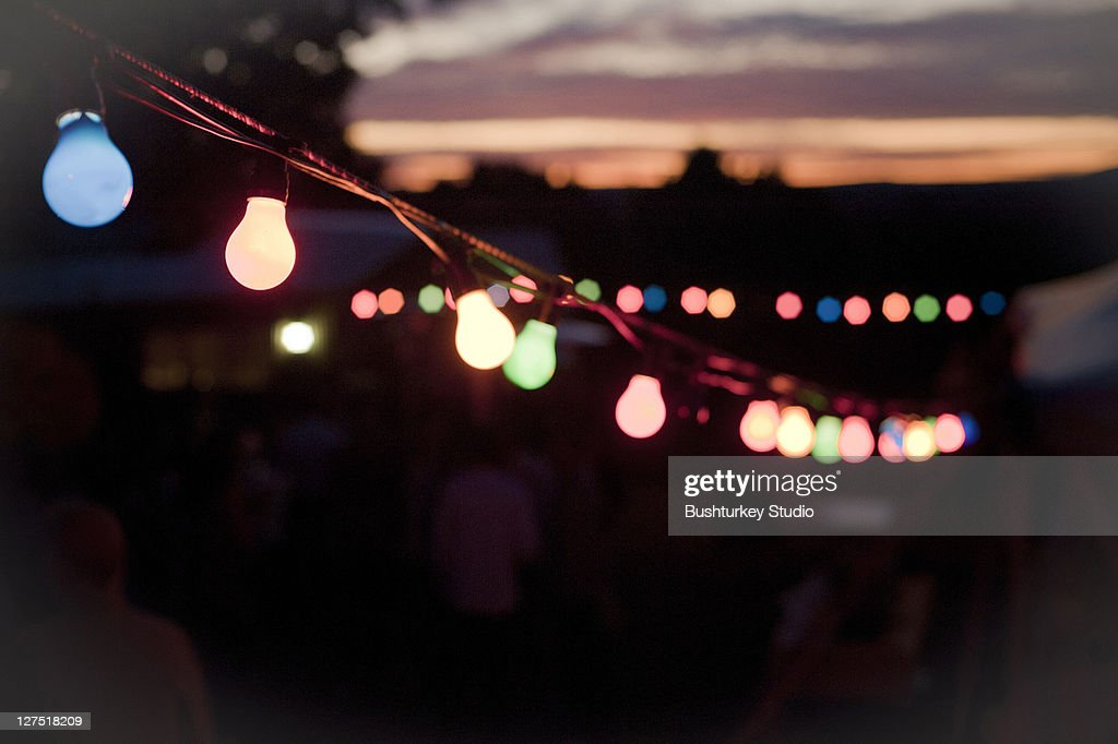 Party Lights : Stock Photo
