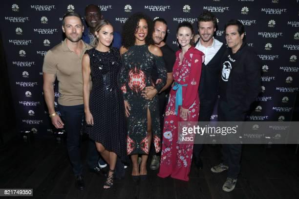 DIEGO 2017 ''NBC Party' Pictured Jason Lewis Peter Mensah Arielle Kebbel Parisa FitzHenley Jason Lewis Sarah Ramos Francois Arnaud Yul Vazquez at the...