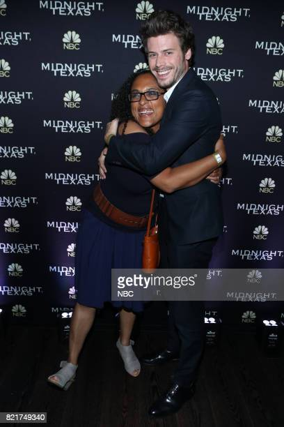 DIEGO 2017 ''NBC Party' Pictured Monica OwusuBreen Francois Arnaud at the Oxford Social Club at Pendry San Diego Calif