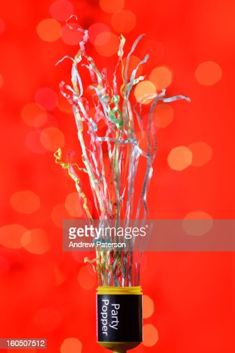 Party popper : Stock Photo