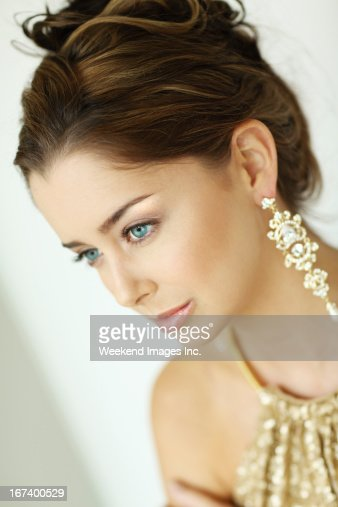 Party style make up : Stock Photo