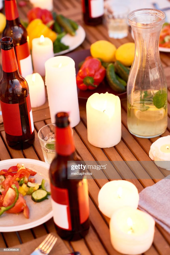Party table : Stockfoto