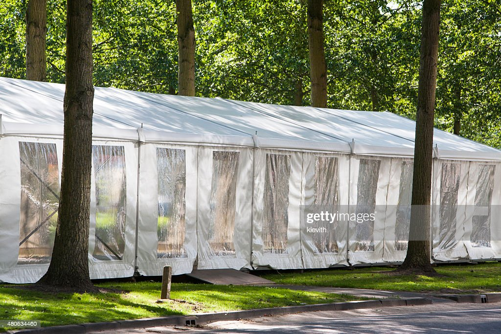 Party tent : Stock Photo