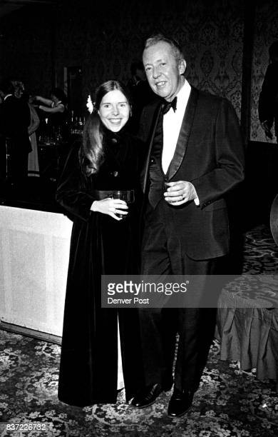 Partygoers at St Anthony Hospital Systems Gala on Saturday at Marriott Hotel were Miss Eugenie Sontag and her father Dr Stanley Sontag Credit Denver...