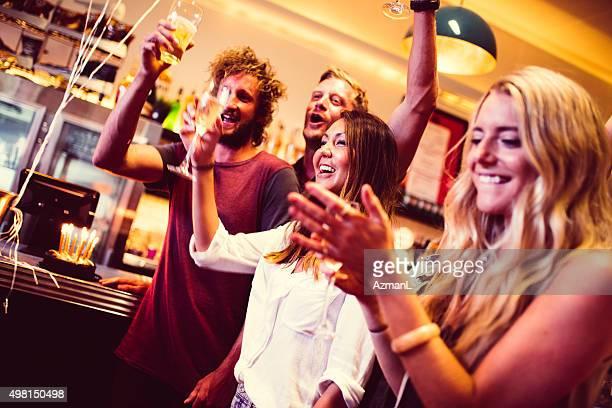 Party in der bar