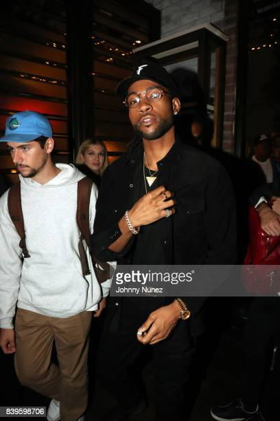 PartyNextDoor attends DJ Khaled's Platinum Dinner at Catch on August 25 2017 in West Hollywood California
