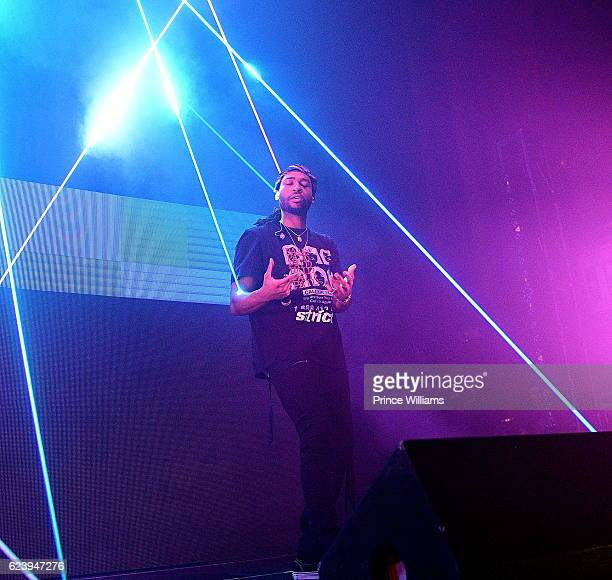 PartyNextDoor performs at the PartyNextDoor and Jeremih Summer's Over Tour at The Tabernacle on November 14 2016 in Atlanta Georgia