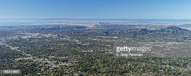 Pasadena from above