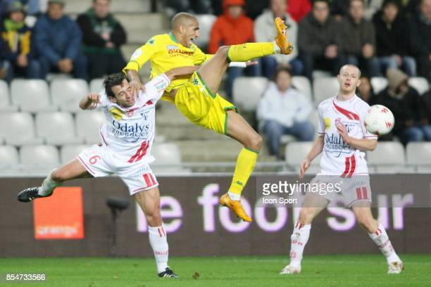 Pascal BERENGUER / Aurelien CAPOUE Nantes / Nancy 15eme journee de Ligue 1