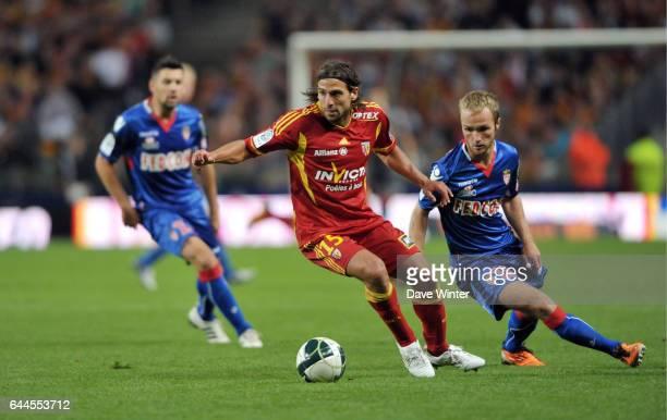 Pascal BERENGUER / Valere GERMAIN Lens / Monaco Ligue 2 5e journee Photo Dave Winter / Icon Sport