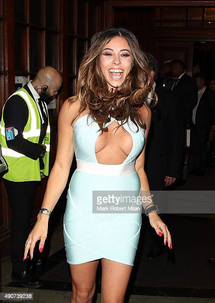 Pascal Craymer at the Reality TV awards on September 30 2015 in London England