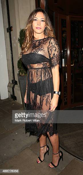 Pascal Craymer at the Soho Sanctum Hotel on September 14 2015 in London England