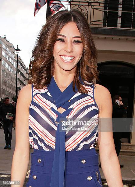 Pascal Craymer attends Rosina's Lotions and Potions launch party at Mint Leaf on April 5 2016 in London England