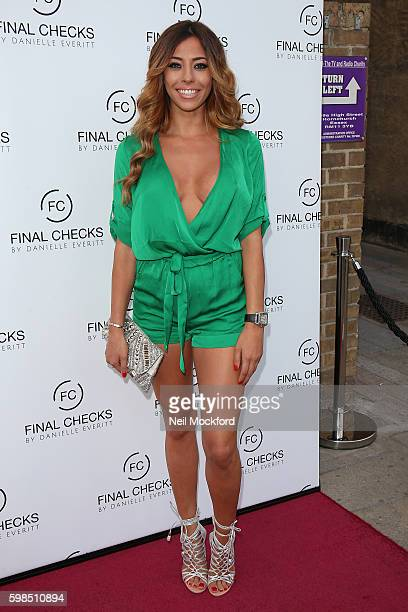 Pascal Craymer attends the Final Checks Studio VIP Launch on September 1 2016 in Hornchurch England