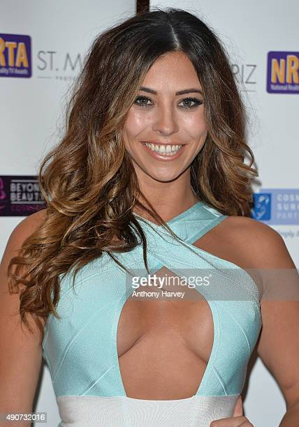 Pascal Craymer attends the National Reality TV Awards at Porchester Hall on September 30 2015 in London England