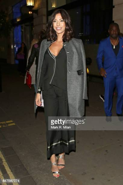 Pascal Craymer seen during London Fashion Week September 2017 on September 15 2017 in London England