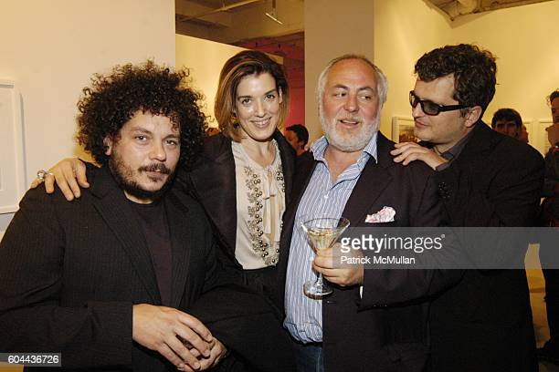 Pascal Dangin Nicolle Meyer Duccio Ermenegildo and Samuel Bourdin attend Phillips de Pury and Company and The Wall Street Journal Host a Private...