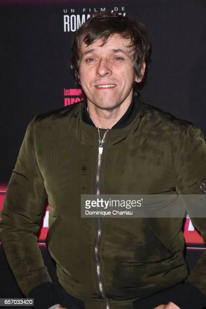 Pascal Demolon attends the 'Gangsterdam' Paris Premiere at Le Grand Rex on March 23 2017 in Paris France