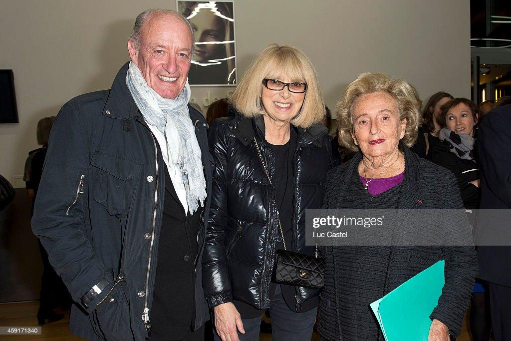 Pascal Desprez Mireille Darc and Bernadette Chirac attend the 10th Anniversary of 'Maison de Solenn' on November 17 2014 in Paris France