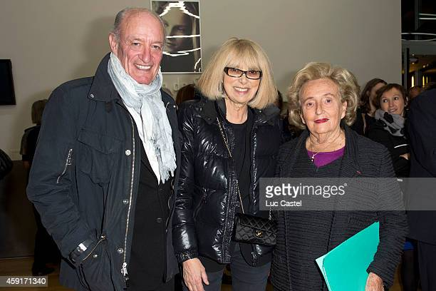 Pascal Desprez Mireille Darc and Bernadette Chirac attend the 10th Anniversary of 'Maison de Solenn' on November 17 2014 in Paris France