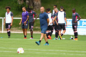 Pascal Dupraz of Toulouse during the Pre season friendly match between Toulouse Fc and Osasuna on July 22 2016 in Hendaye France