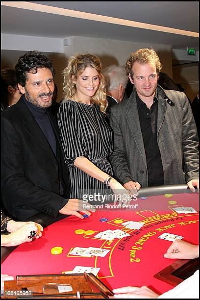 Pascal Elbe Alice Taglioni Jocelyn Quivrin at Inauguration Of The Boutique Cartier On Rue Du Faubourg Saint Honore In Paris