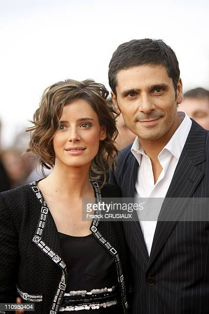 Pascal Elbe and Pilar Lopez de Ayala at the 22th Cabourg Film Festival in Cabourg France on June 14th 2008