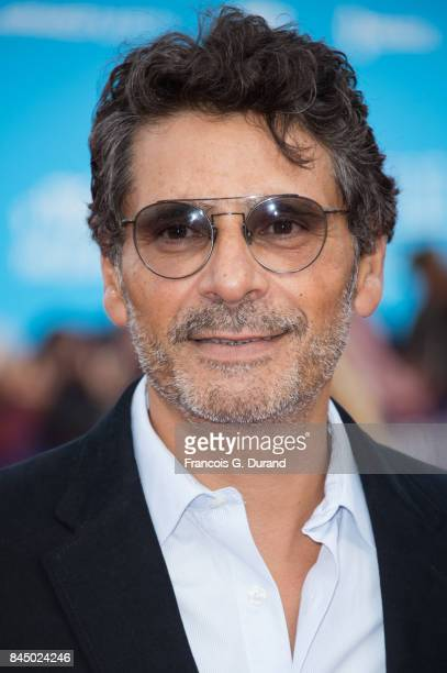 Pascal Elbe arrives at the screening for 'mother' during the 43rd Deauville American Film Festival on September 8 2017 in Deauville France