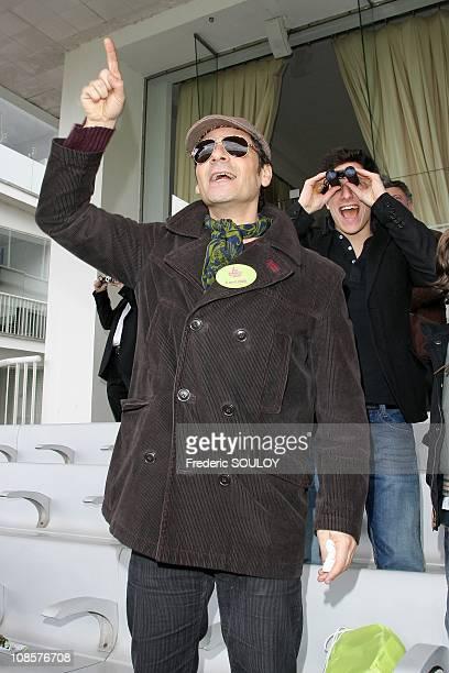Pascal Elbe at the 'Hippodrome de Longchamp' in Paris France on April 6 2008