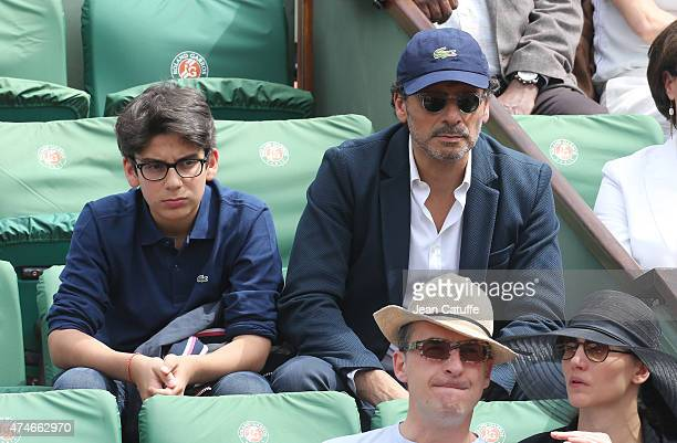 Pascal Elbe attends day 1 of the French Open 2015 held at Roland Garros stadium on May 24 2015 in Paris France