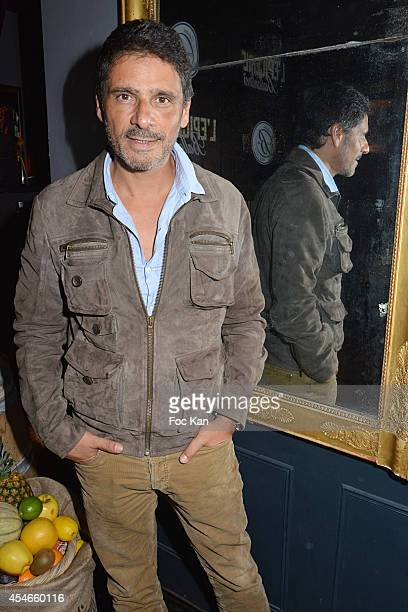 Pascal Elbe attends the Epicerie Ballantine' s Ephemeral Bar Party at the Cha cha Club on September 4 2014 in Paris France