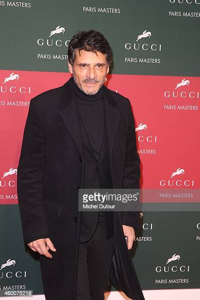 Pascal Elbe attends the Gucci Paris Master Day 3 on December 6 2014 in Villepinte France