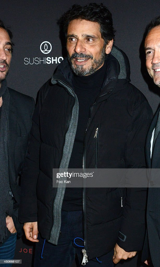Pascal Elbe attends the Sushi Shop Launches New Menu By Joel Robuchon - Photo Call At Le Mini Palais on November 19, 2013 in Paris, France.