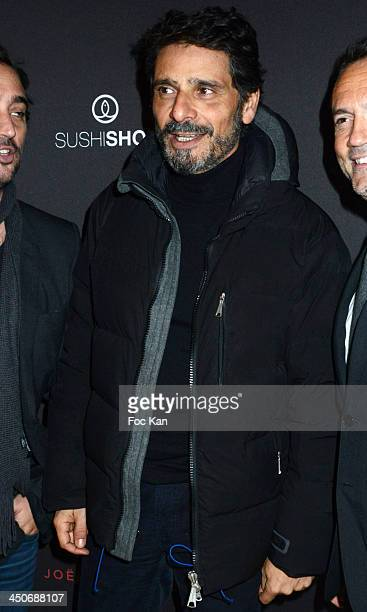Pascal Elbe attends the Sushi Shop Launches New Menu By Joel Robuchon Photo Call At Le Mini Palais on November 19 2013 in Paris France