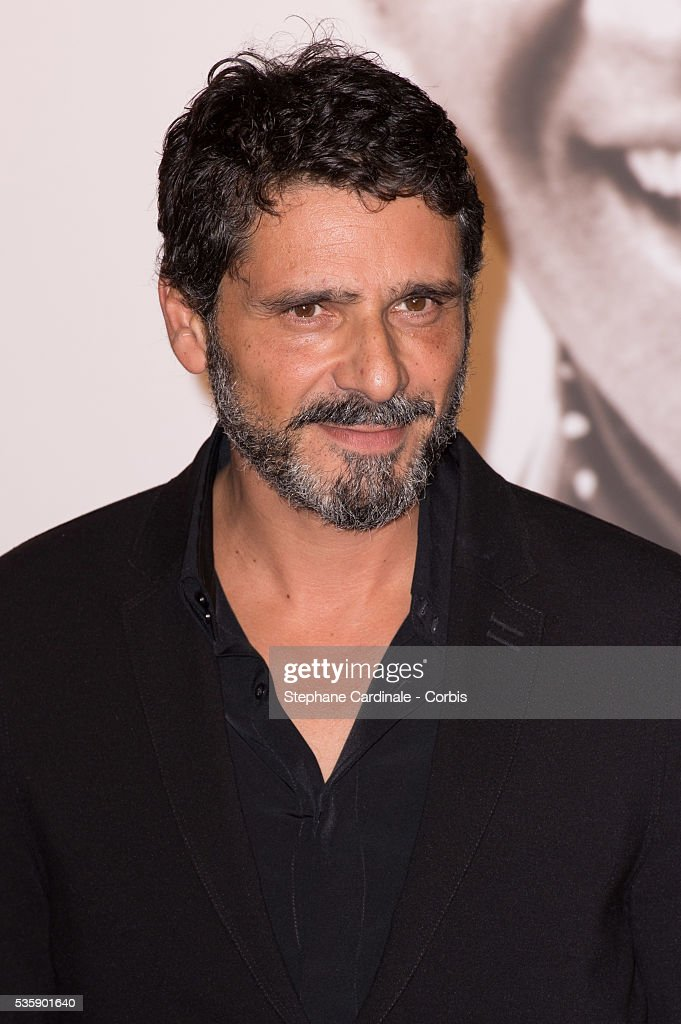 Pascal Elbe attends the Tribute to Jean Paul Belmondo and Opening Ceremony of the Fifth Lumiere Film Festival, in Lyon.