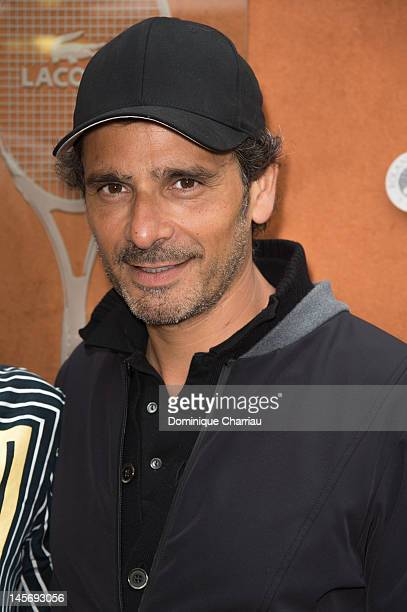 Pascal Elbe Sightings during The French Open at Roland Garros on June 3 2012 in Paris France