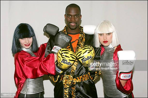 Pascal Gentil and Les Danseuses Du Crazy Horse at 'The Gala Ring 2005' At Cirque D'Hiver Bouglione