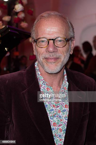 Pascal Greggory attends the Kenzo Takada's 50 Years Of Life in Paris Celebration at Restaurant Le Pre Catelan on September 17 2015 in Paris France
