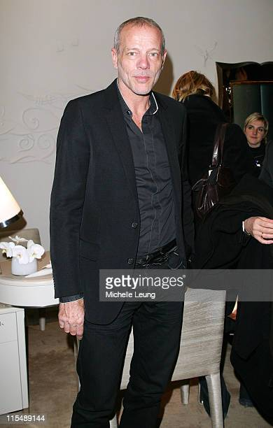Pascal Greggory during Van Cleef and Arpels' Store Opening in Paris at 22 Place de Ven d'Ume in Paris France