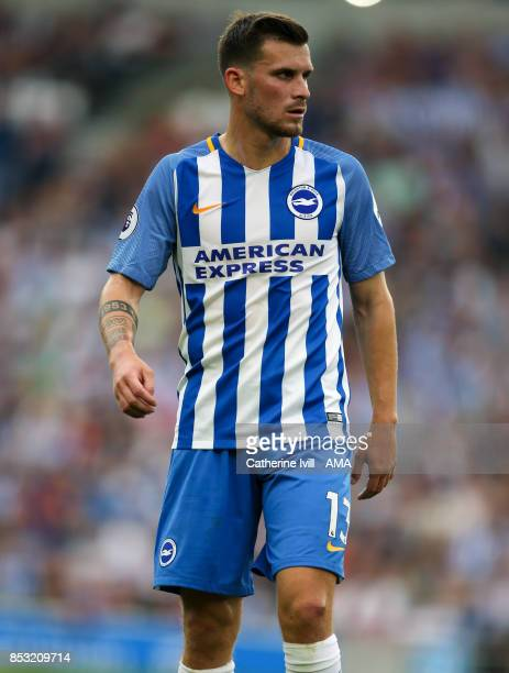 Pascal Gross of Brighton and Hove Albion during the Premier League match between Brighton and Hove Albion and Newcastle United at Amex Stadium on...