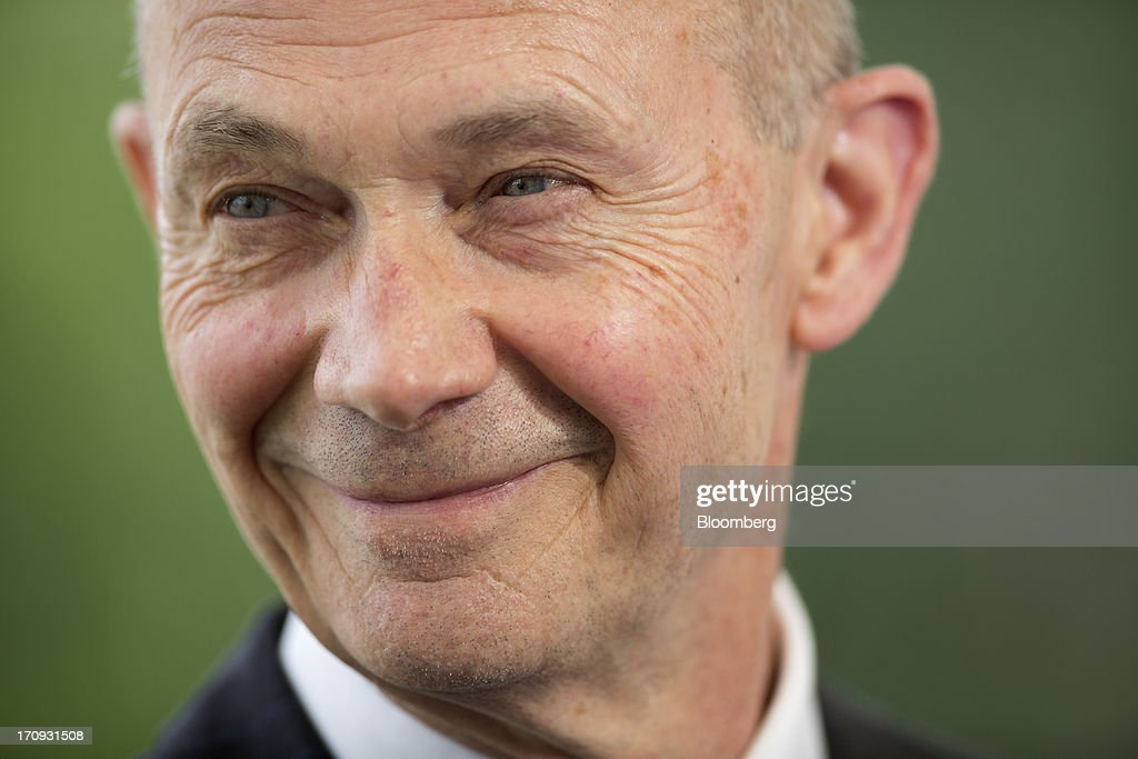 <a gi-track='captionPersonalityLinkClicked' href=/galleries/search?phrase=Pascal+Lamy&family=editorial&specificpeople=220438 ng-click='$event.stopPropagation()'>Pascal Lamy</a>, director general of the World Trade Organization (WTO), reacts during a Bloomberg Television interview on the opening day of the St. Petersburg International Economic Forum 2013 (SPIEF) in St. Petersburg, Russia, on Thursday, June 20, 2013. Russian consumer spending probably eased and investment shrank at the fastest pace since 2011, adding to evidence the $2 trillion economy is stalling. Photographer: Simon Dawson/Bloomberg via Getty Images