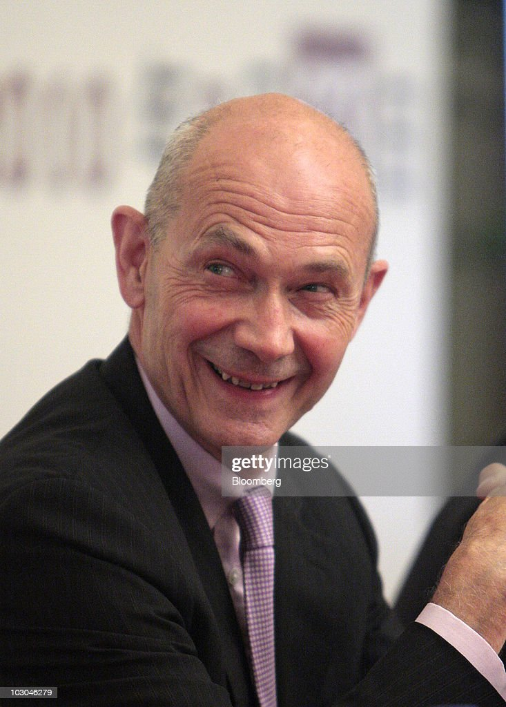 <a gi-track='captionPersonalityLinkClicked' href=/galleries/search?phrase=Pascal+Lamy&family=editorial&specificpeople=220438 ng-click='$event.stopPropagation()'>Pascal Lamy</a>, director general of the World Trade Organization (WTO), smiles as he attends the World Trade Report 2010 in Shanghai, China, on Friday, July 23, 2010. China is abiding by its commitments to the World Trade Organization, according to Lamy. Photographer: Kevin Lee/Bloomberg via Getty Images