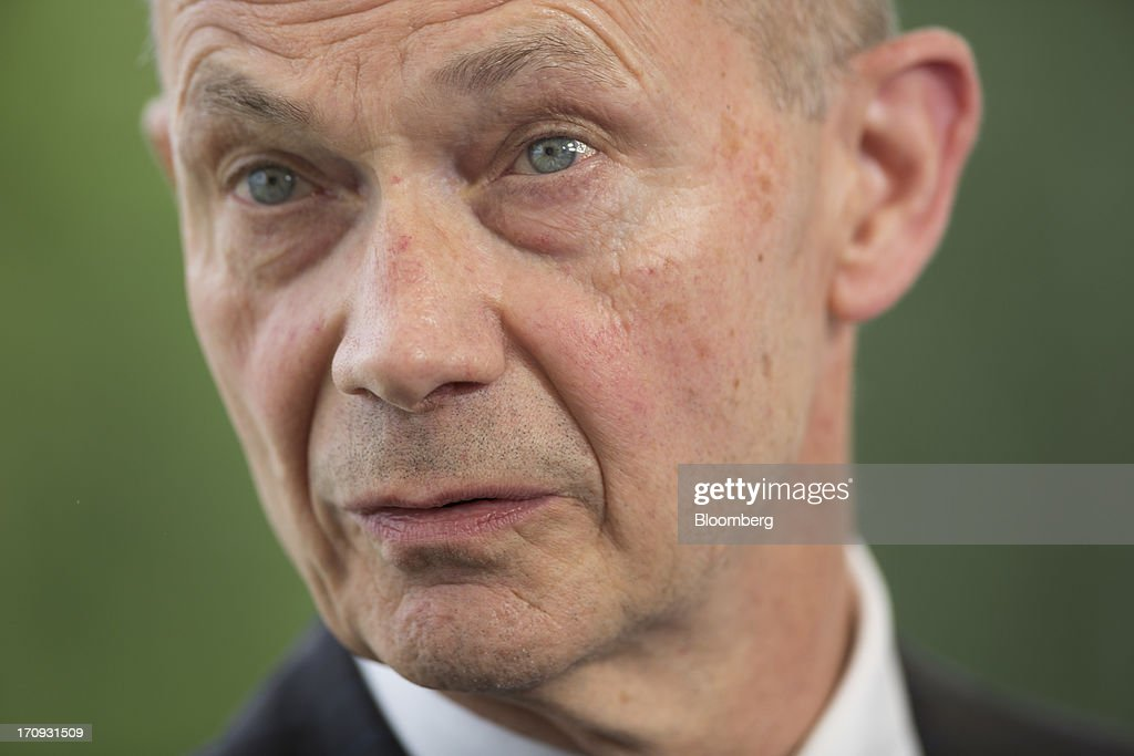 <a gi-track='captionPersonalityLinkClicked' href=/galleries/search?phrase=Pascal+Lamy&family=editorial&specificpeople=220438 ng-click='$event.stopPropagation()'>Pascal Lamy</a>, director general of the World Trade Organization (WTO), speaks during a Bloomberg Television interview on the opening day of the St. Petersburg International Economic Forum 2013 (SPIEF) in St. Petersburg, Russia, on Thursday, June 20, 2013. Russian consumer spending probably eased and investment shrank at the fastest pace since 2011, adding to evidence the $2 trillion economy is stalling. Photographer: Simon Dawson/Bloomberg via Getty Images