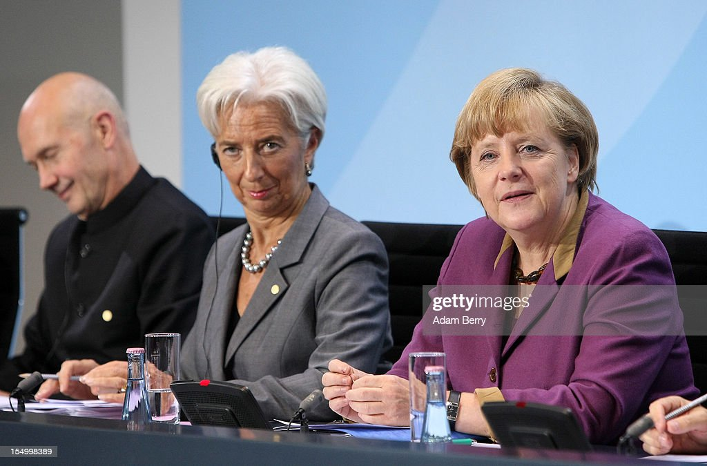 Merkel Hosts Economic And Finance Summit