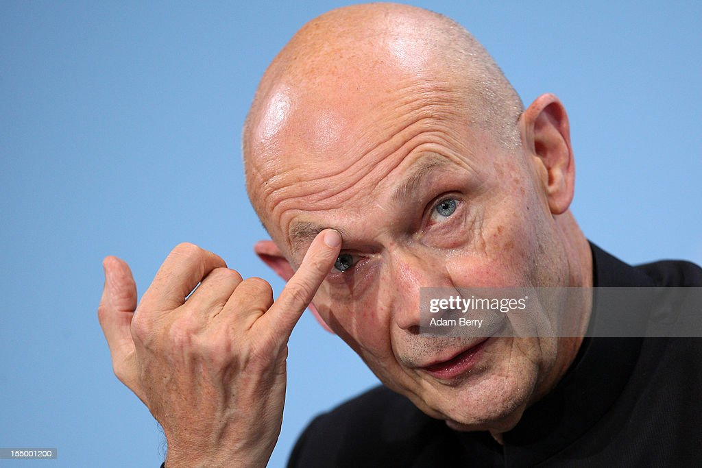 <a gi-track='captionPersonalityLinkClicked' href=/galleries/search?phrase=Pascal+Lamy&family=editorial&specificpeople=220438 ng-click='$event.stopPropagation()'>Pascal Lamy</a>, director-general of the World Trade Organization (WTO), listens at a news conference after a meeting on October 30, 2012 at the German federal chancellery in Berlin, Germany. German Chancellor Angela Merkel met with the heads of five international financial and economic bodies to discuss the global economic outlook as well as the situation in Europe in particular, concentrating on policies to improve competitiveness, trade and development.