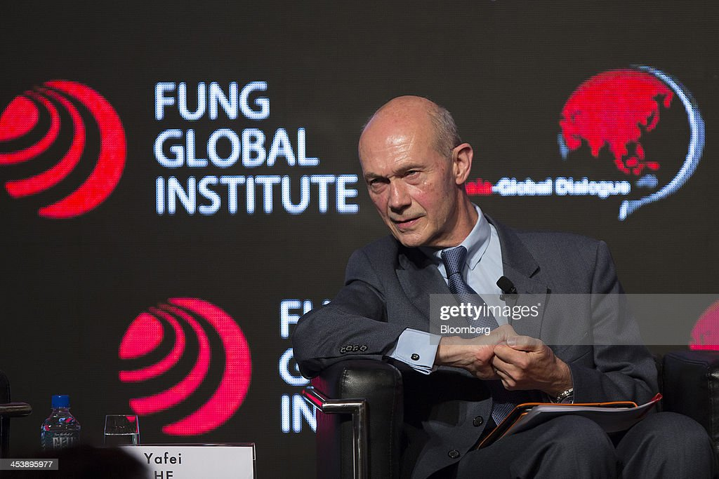 <a gi-track='captionPersonalityLinkClicked' href=/galleries/search?phrase=Pascal+Lamy&family=editorial&specificpeople=220438 ng-click='$event.stopPropagation()'>Pascal Lamy</a>, former director general of the World Trade Organization (WTO), attends the Asia-Global Dialogue conference in Hong Kong, China, on Friday, Dec. 6, 2013. The Asia-Global Dialogue conference concludes today. Photographer: Jerome Favre/Bloomberg via Getty Images