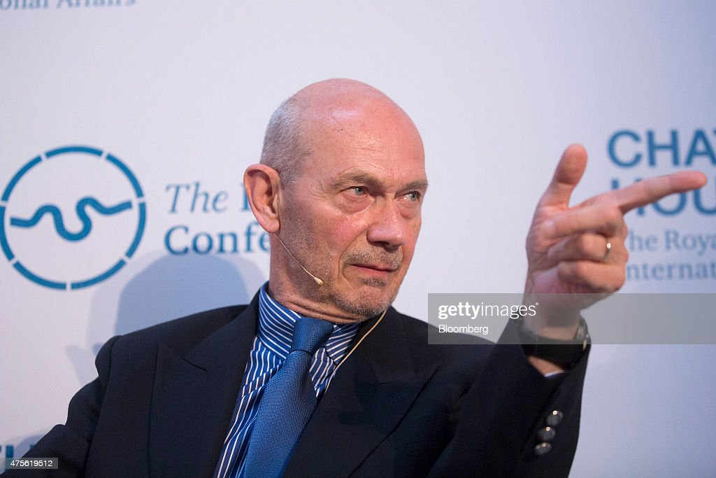 <a gi-track='captionPersonalityLinkClicked' href=/galleries/search?phrase=Pascal+Lamy&family=editorial&specificpeople=220438 ng-click='$event.stopPropagation()'>Pascal Lamy</a>, former director general of the World Trade Organization (WTO), gestures as he speaks during the 'London Conference' at Lancaster House in London, U.K., on Tuesday, June 2, 2015. Chatham House's flagship annual conference brings together senior decision makers from around the globe to debate the economic, political and environmental trends underlying and connecting current events. Photographer: Simon Dawson/Bloomberg via Getty Images