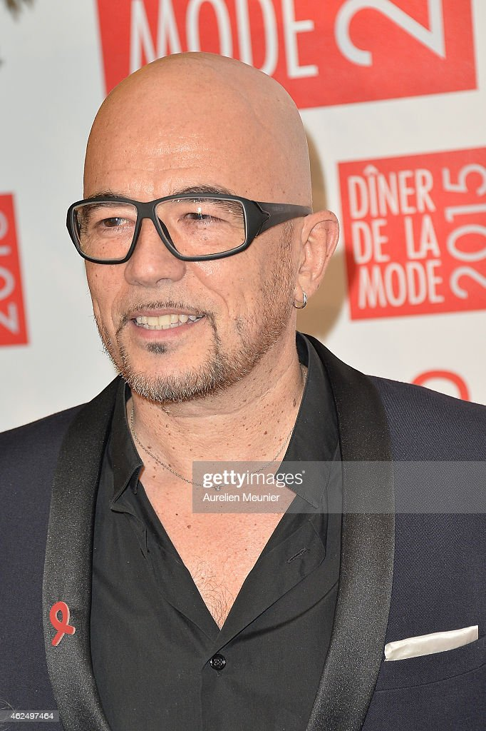 <a gi-track='captionPersonalityLinkClicked' href=/galleries/search?phrase=Pascal+Obispo&family=editorial&specificpeople=549855 ng-click='$event.stopPropagation()'>Pascal Obispo</a> attends the Sidaction Gala Dinner 2015 at Pavillon d'Armenonville on January 29, 2015 in Paris, France.